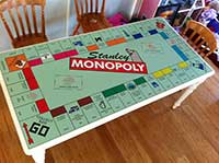 Monopoly Table
