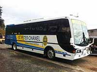 Saint Peter Chanel School Bus